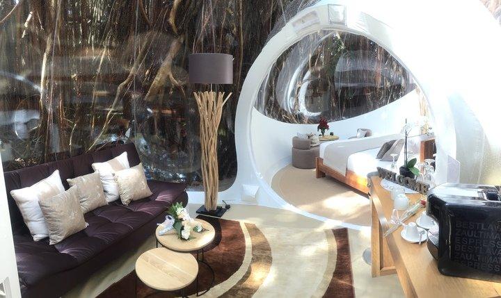 Sun Resorts предлагает отдых в доме-пузыре на Маврикии