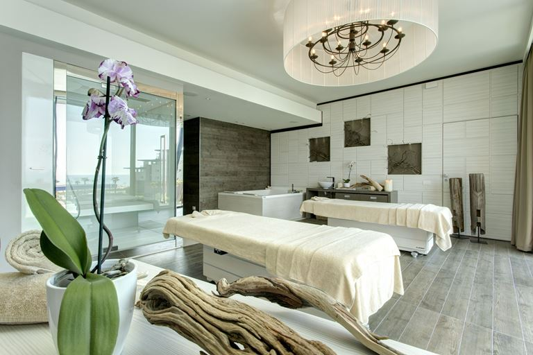 Almar Jesolo Resort&Spa (Лидо Ди Езоло) Almablu Spa - частный спа для расслабления и тонуса