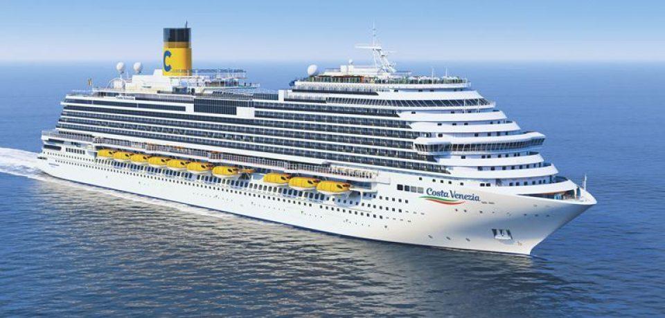 Новый лайнер Costa Venezia для китайского рынка спущен на воду