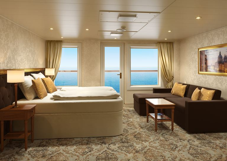 Лайнер Costa Venezia для китайского рынка - двухместный номер suite