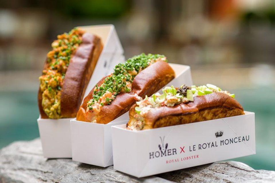 Эксклюзивный Lobster Roll от Homer Lobster и Le Royal Monceau-Raffles