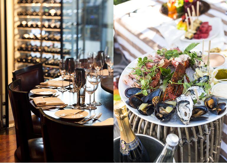 Вино и гастрономия курорта One&Only Cape Town - вино, шампанское и устрицы