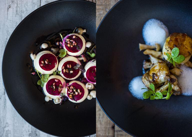Вино и гастрономия курорта One&Only Cape Town - блюда изысканной кухни ресторана