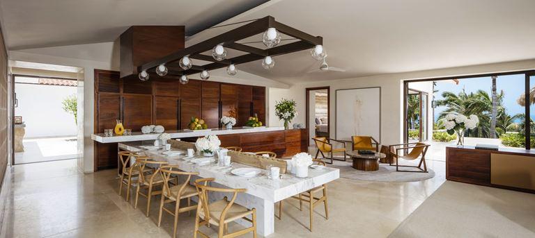 Курорт One&Only Palmilla в Лос-Кабосе, Мексика - Villa One - столовая