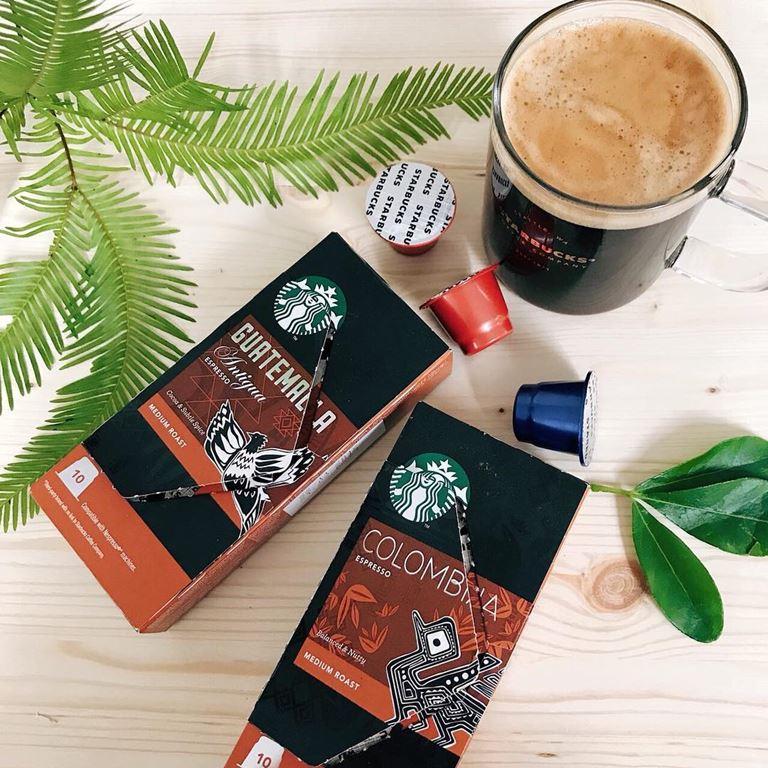 Starbucks запустил в России линейку эспрессо-капсул