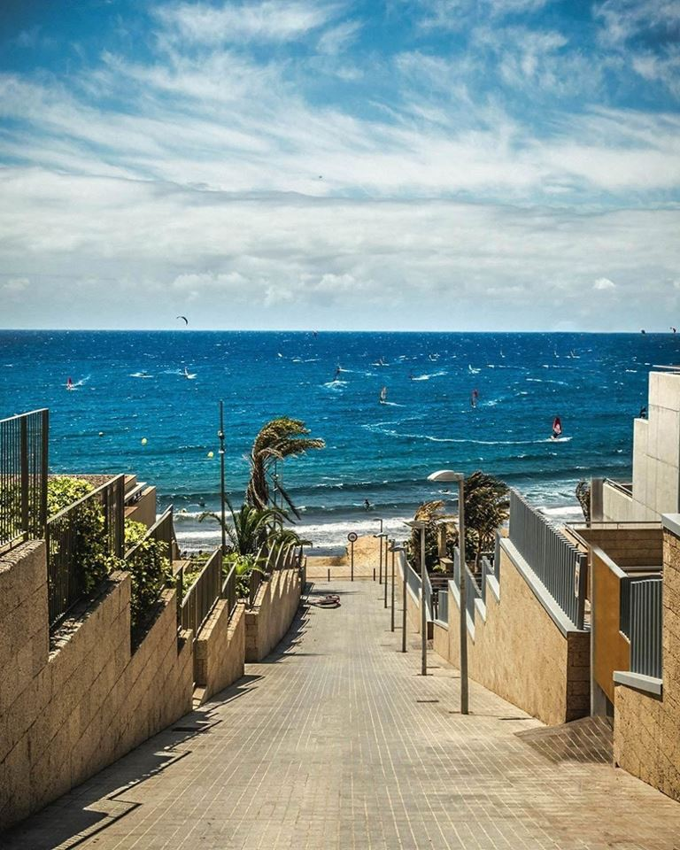Летний отдых на Тенерифе - водные развлечения