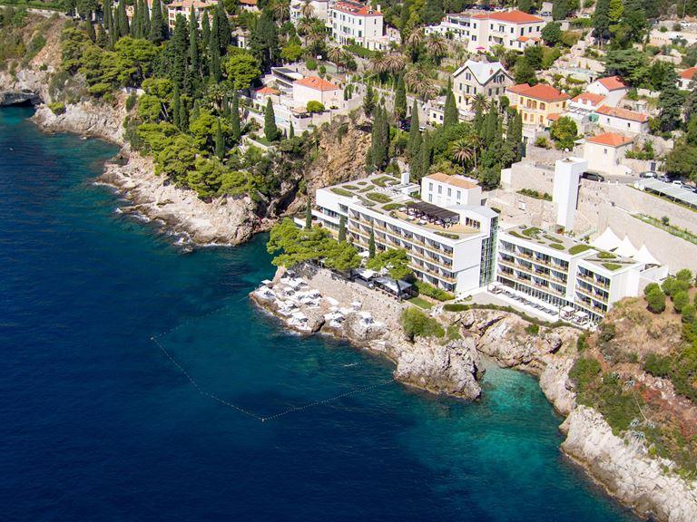 Отель Villa Dubrovnik в Хорватии: пляжный отдых с видом на Старый город