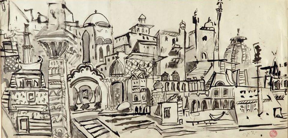 Выставка греческого художника Никоса Хадзикирьякоса-Гика в Costa Navarino