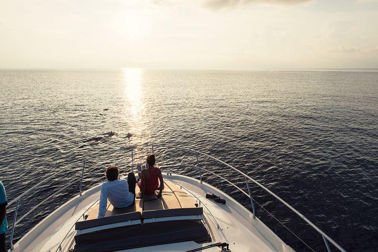 Новая яхта Princess Yacht Rania на курорте Velaa Private Island Maldives