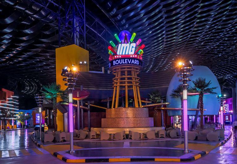 красивые места в Дубае для ярких и необычных фотографий - IMG Worlds of Adventure