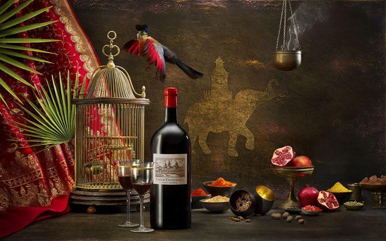 Столетнее французское вино от Château Cos d'Estournel