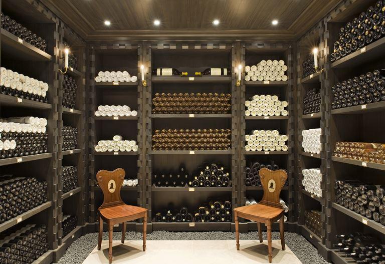 Столетнее французское вино от Château Cos d'Estournel - винотека