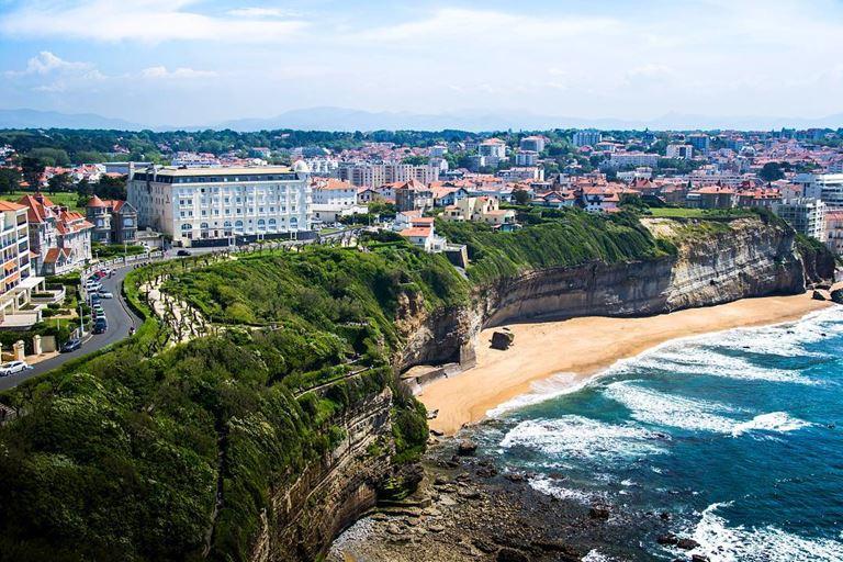 Города мира на берегу океана - Биарриц (Франция)