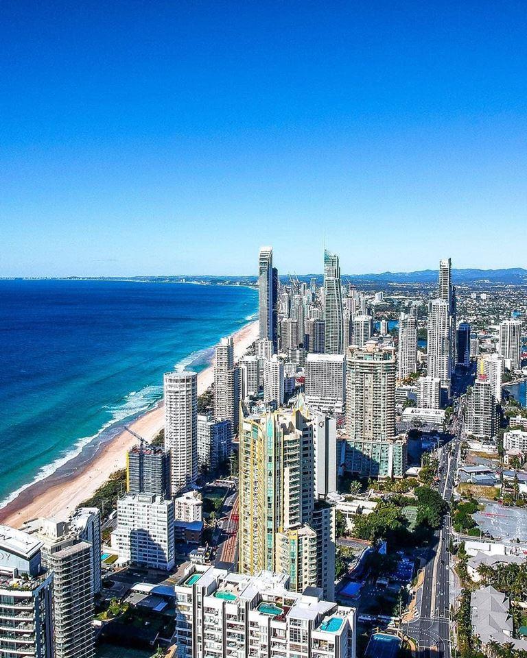 Города мира на берегу океана - Голд-Кост (Австралия)