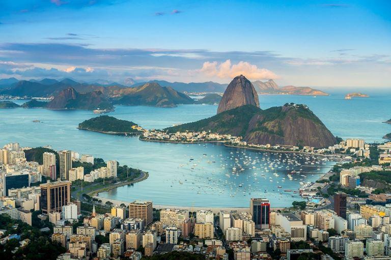 Города мира на берегу океана - Рио де Жанейро (Бразилия)