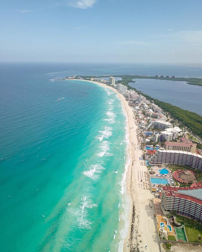Города мира на берегу океана - Канкун (Мексика)