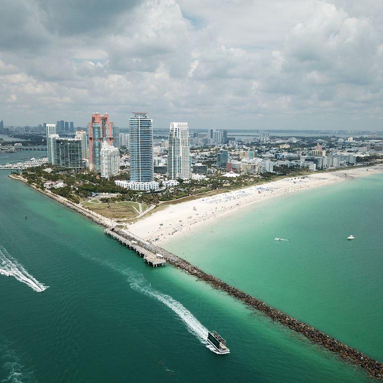 Города мира на берегу океана - Майами (США)