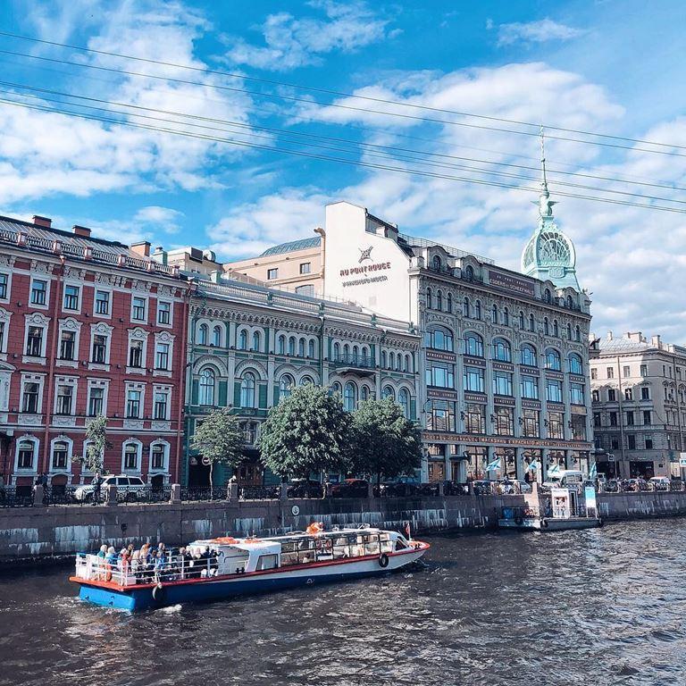 6 атмосферных городов Европы, стоящих на воде - Санкт-Петербург (Россия)