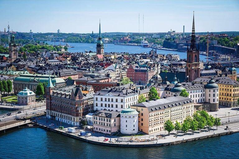 6 атмосферных городов Европы, стоящих на воде - Стокгольм (Швеция)