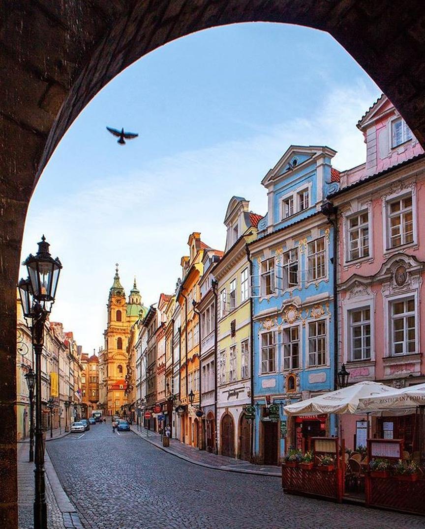 Города Европы с красивыми «пряничными» домиками - Прага (Чехия)
