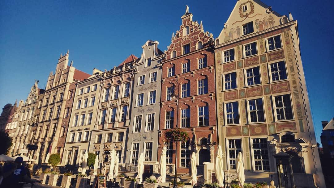 Города Европы с красивыми «пряничными» домиками - Гданьск (Польша)
