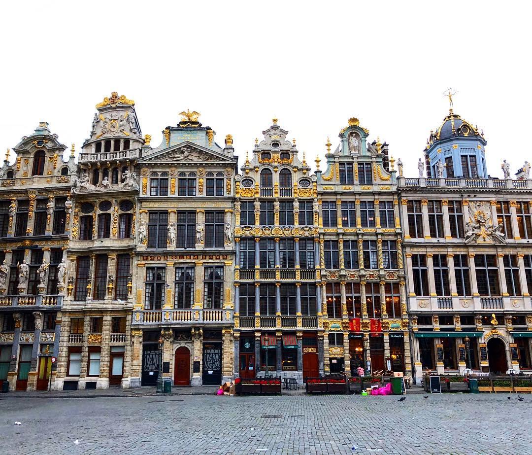 Города Европы с красивыми «пряничными» домиками - Брюссель (Бельгия)