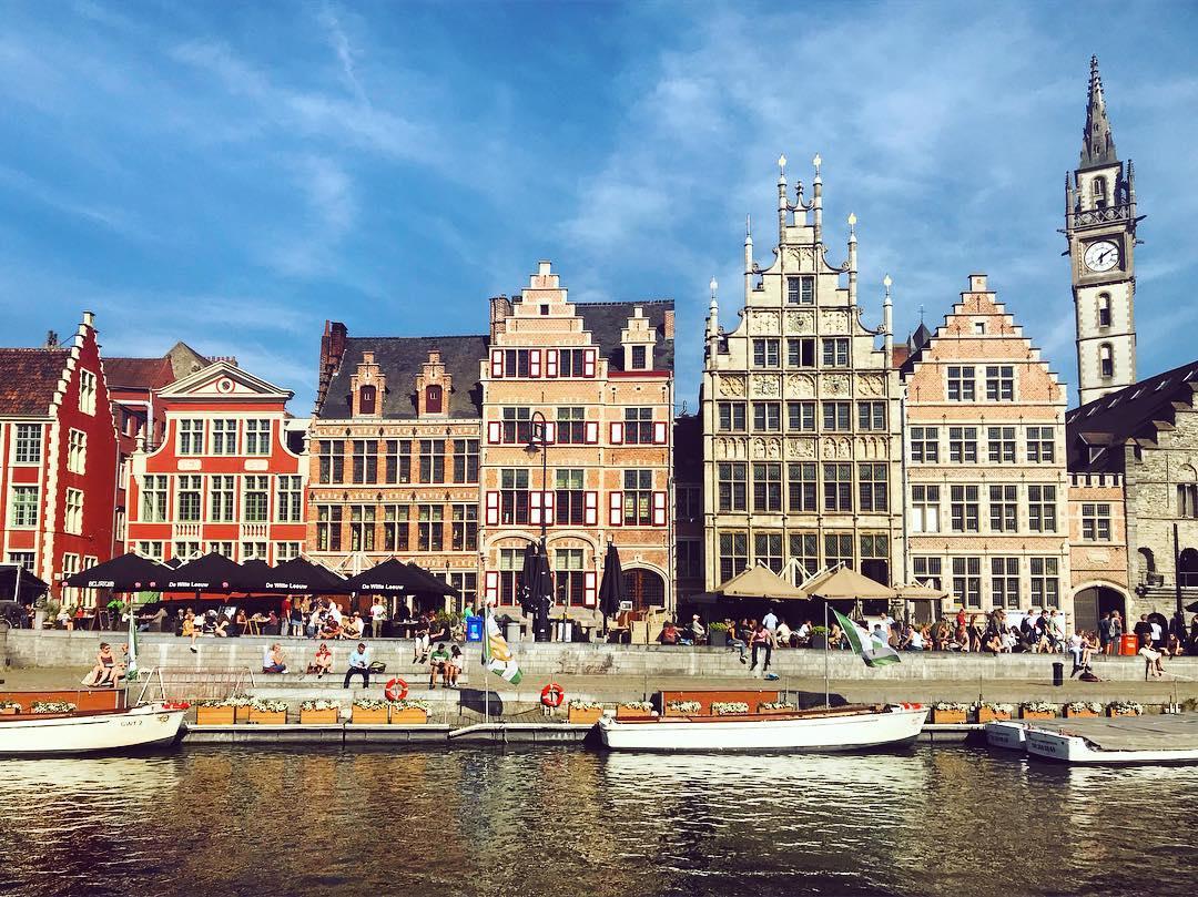 Города Европы с красивыми «пряничными» домиками - Гент (Бельгия)