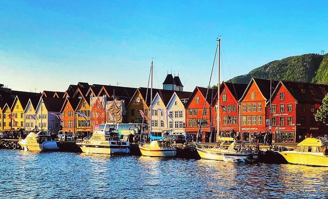 Города Европы с красивыми «пряничными» домиками - Берген (Норвегия)