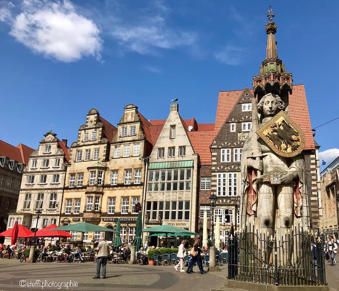 Города Европы с красивыми «пряничными» домиками - Бремен (Германия)