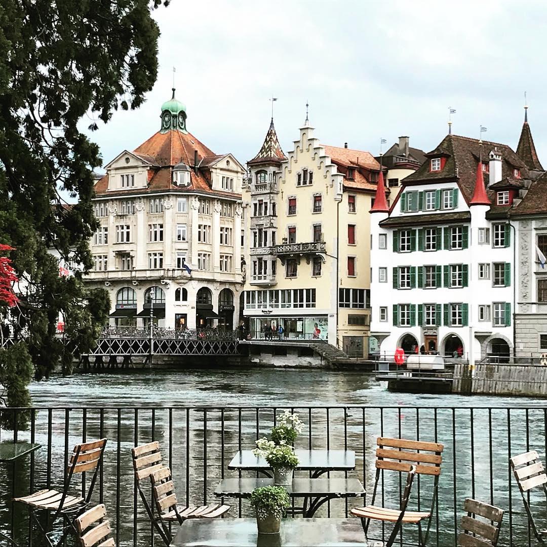 Города Европы с красивыми «пряничными» домиками - Люцерн (Швейцария)