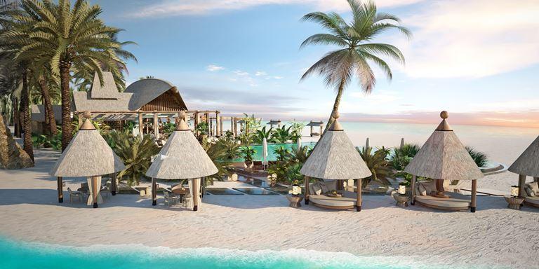 Искусство гастрономии на новом курорте JOALI Maldives - бар на пляже