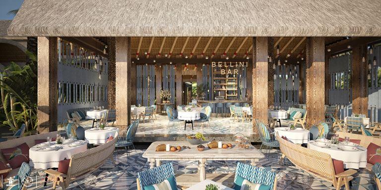 Искусство гастрономии на новом курорте JOALI Maldives - ресторан Bellini's