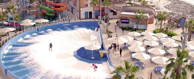 Дубай в 2018 году - новые проекты и открытия - Аквапарк La Mer Laguna Water Park