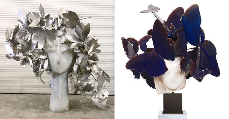 Выставка скульптур Маноло Вальдеса в La Réserve Genève