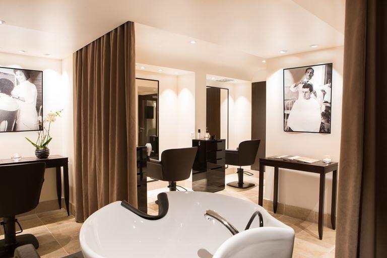 Открытие салона Rossano Ferretti Hair Spa в отеле La Réserve Genève - интерьер