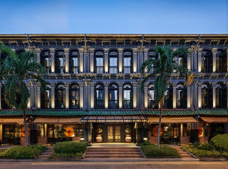 Six Senses Duxton - новый отель в Сингапуре, открывшийся в 2018 году