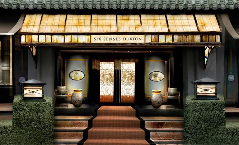 Six Senses Duxton - отель в Сингапуре - центральный вдох