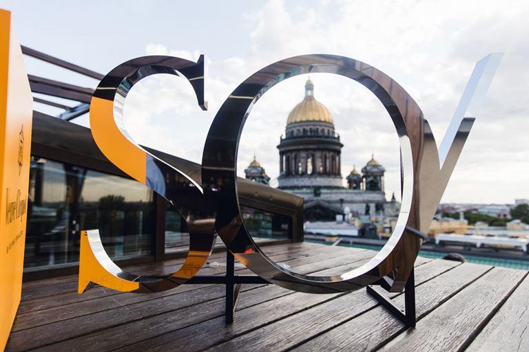 Отель SO/ St. Petersburg - вид на Исаакиевский собор