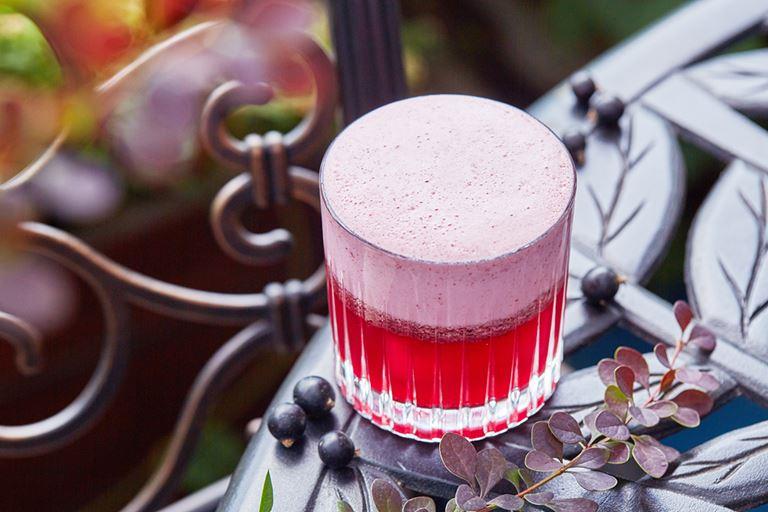Летние коктейли в ресторане Nofar - «Блюберд»