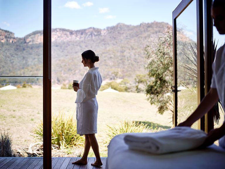 Велнес-выходные в Австралии на курорте Emirates One&Only Wolgan Valley