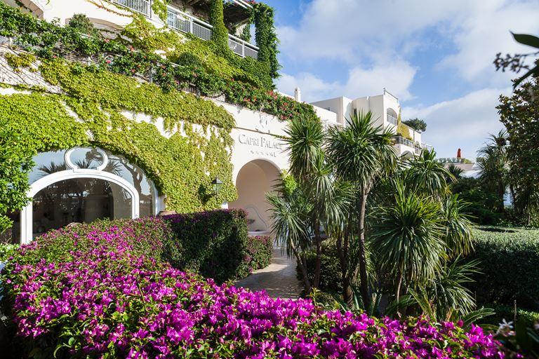 Capri Palace – бутик-отель в живописной части острова Капри