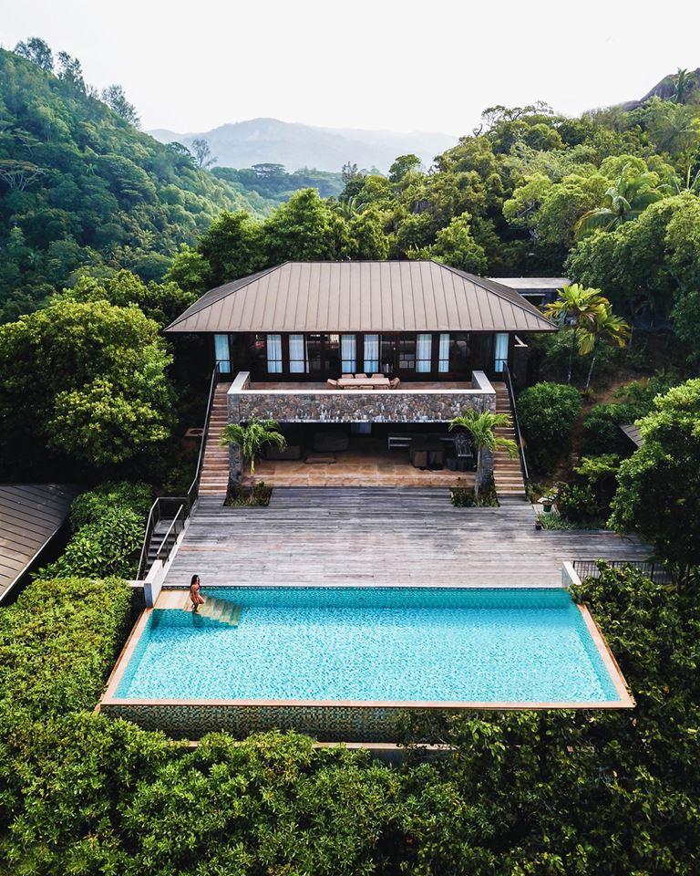 Four Seasons Resort Seychelles - открытый бассейн