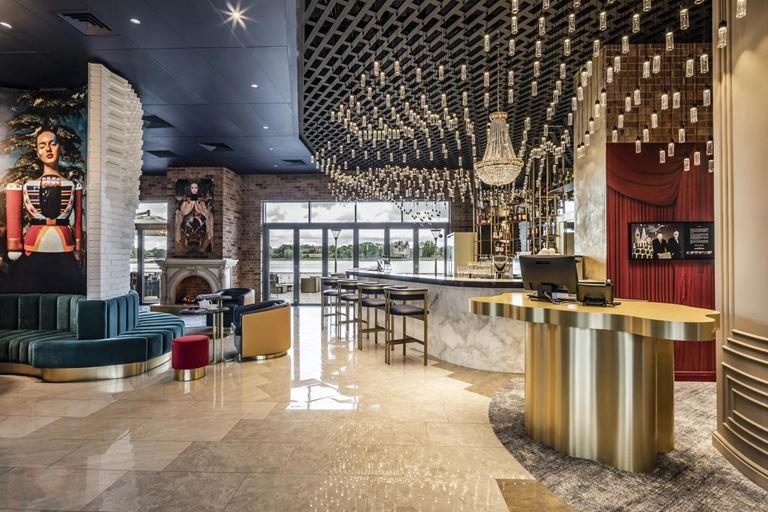 Mercure Калининград Центр - интерьер лобби отеля