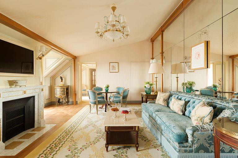 Отель Ritz Paris, Франция - новый номер suite - L'Appartement Ritz - стиль шикарной парижской квартиры