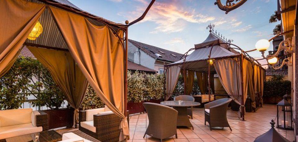 Baglioni Hotel Carlton приглашает на ужин с панорамным видом на Милан