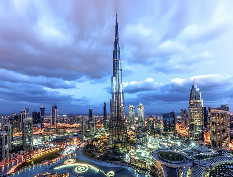 Дубайская арифметика: интересные факты о городе в цифрах - Burj Khalifa