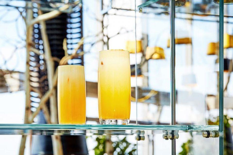Осенние коктейли в ресторане Sixty
