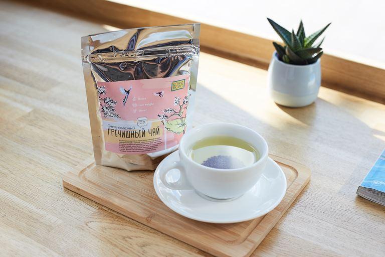 Пряные новинки в «Кофе Бюро» Ясмины Муратович и Екатерины Евстроповой - Гречишный чай