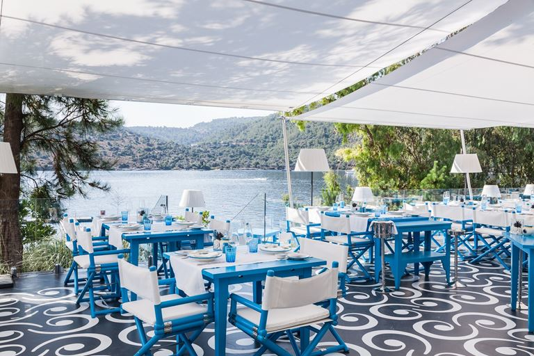 Il Riccio Beach House, Турция, Бодрум - ресторан на берегу моря