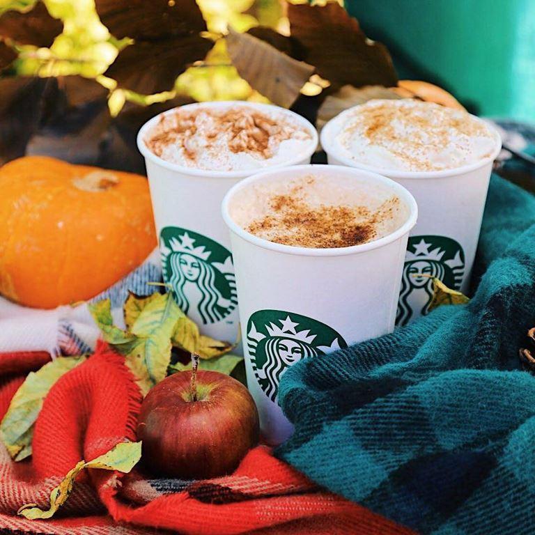 Праздничный сентябрь со Starbucks: осенние напитки